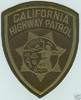 Confirmed fake California Highway Patrol subdued patch