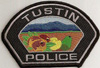Highly suspicious fake Tustin Police patch