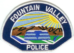 Confirmed fake Fountain Valley Police patch