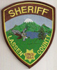 Highly suspicious fake Lassen County Sheriff patch