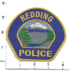 Confirmed fake Redding Police patch