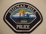 Highly suspicious fake Signal Hill Police patch